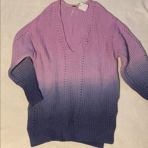 Free People Ombré Sweater